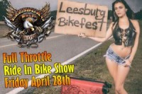 Full Throttle Ride-In Bike Show
